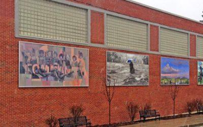 Un nouveau Circuit de murale à Lennoxville
